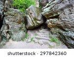 Large Boulder Fallen On The...