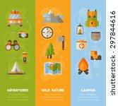 advertisement set of concept... | Shutterstock .eps vector #297844616