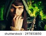 Noble Fairy Elf In The Magic...