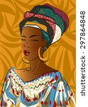 vector illustration.african...   Shutterstock .eps vector #297864848