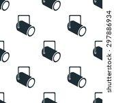 movie spotlight icon | Shutterstock .eps vector #297886934