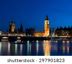 The Big Ben And Westminster By...