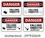 Set Of Danger Falling Objects...