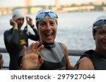 new york city   july 19 2015 ...   Shutterstock . vector #297927044