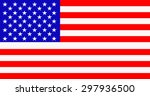 usa national flag | Shutterstock . vector #297936500
