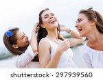Cheerful Women Having Fun...