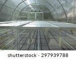 green house solar drying... | Shutterstock . vector #297939788