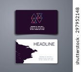 business card template....