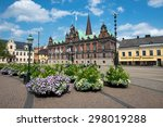 malmo  sweden   july 20  people ... | Shutterstock . vector #298019288
