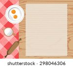 cookbook background  can be... | Shutterstock .eps vector #298046306