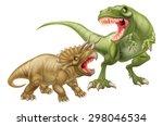 T Rex Versus Triceratops...