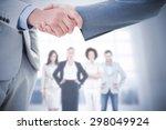 composite image of business... | Shutterstock . vector #298049924