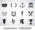 ancient  greek civilization.... | Shutterstock . vector #298058420