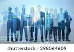 people  profession ... | Shutterstock . vector #298064609