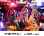party  holidays  celebration ... | Shutterstock . vector #298068668