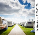 Caravan Camping On The Beach....