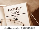 Book With Words Family Law And...