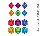 vector set of colorful cartoon...
