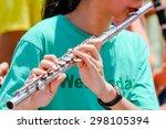Flute Music Playing Flutist...