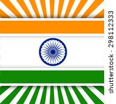 creative indian independence... | Shutterstock .eps vector #298112333