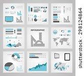 vector illustration of modern... | Shutterstock .eps vector #298124864