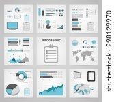 vector illustration of business ... | Shutterstock .eps vector #298129970