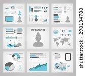 vector illustration of business ... | Shutterstock .eps vector #298134788