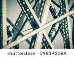 Modern Bridge Frame Closeup....