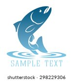 shown logo fish | Shutterstock .eps vector #298229306