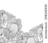 decorative hand drawn element