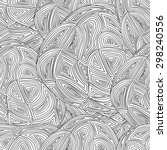 seamless abstract hand drawn... | Shutterstock .eps vector #298240556