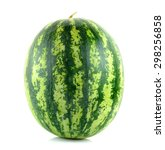 Water Melon Isolated On The...