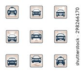 more images of the car icon ... | Shutterstock .eps vector #298266170