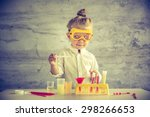 little scientist | Shutterstock . vector #298266653