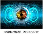 dark blue color light abstract... | Shutterstock .eps vector #298270049