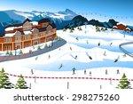 a vector illustration of scene...   Shutterstock .eps vector #298275260