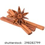 Cinnamon Stick And Star Anise...