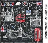 Vector  London Landmark Symbols ...