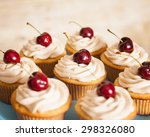Vanilla Cupcakes With Butter...