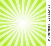 Green Sunburst  Background....