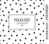 Polka Dot. Cute Postcard....