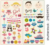 Scrapbook Boy And Girl Set