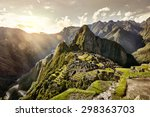 View Of The Ancient Inca City...
