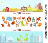 children visual puzzle maze...   Shutterstock .eps vector #298365098