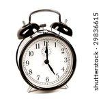 alarm clock | Shutterstock . vector #29836615