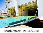 boarding on a passenger ferry...
