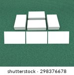 template to presentation. place ... | Shutterstock . vector #298376678