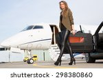woman convertable car and...   Shutterstock . vector #298380860