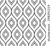 pattern with seamless vector... | Shutterstock .eps vector #298391219