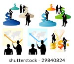 buy 1 get 5. business people | Shutterstock .eps vector #29840824